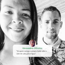 #NossosProjetos Alessandra Oliveira faz parte do projeto Economia Circular: Cisterna para...