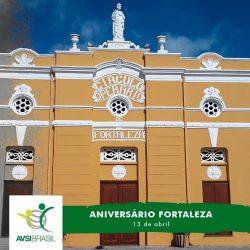 Terra de um povo que faz do sorriso a sua marca. Parabéns, Fortaleza! #AVSIBrasil...
