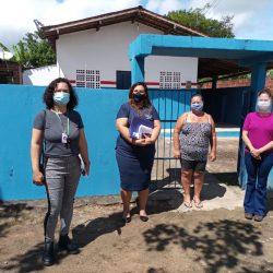 Lagoa dos Gatos, no Pernambuco, recebeu a 1ª missão do projeto do UNICEF, em parceria...