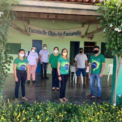 A cidade de Canindé, no Ceará, recebeu a 1ª missão do projeto do UNICEF, em parceria...