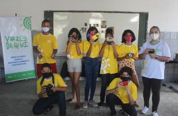 thumbnail de Estudantes do município de Goiana (PE) participam de oficinas sobre fotografia