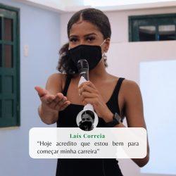 #NossosProjetos Laís Correia se formou no curso de design de sobrancelhas no último...