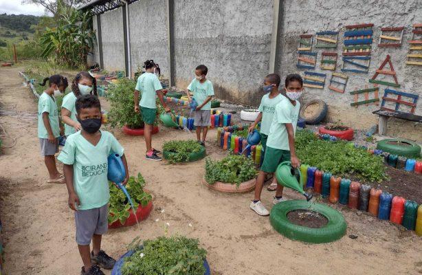 thumbnail de Projetos retornam às atividades presenciais na zona rural de Catu (BA)