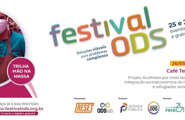 thumbnail de Projeto Acolhidos por meio do trabalho será debatido em café temático na segunda edição do Festival ODS
