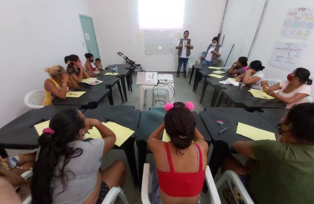 thumbnail de Mulheres do abrigo Rondon 2 (RR) participam de aula online sobre empregabilidade e mercado de trabalho