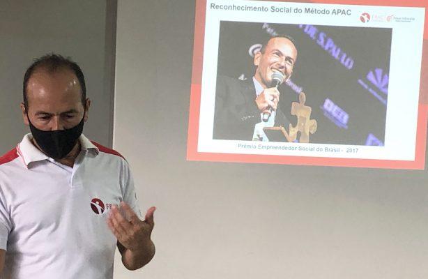 thumbnail de Casa Bom Samaritano contará com método APAC para desenvolver modelo de cogestão em Brasília
