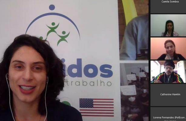 thumbnail de Mesa redonda promovida pela embaixada dos EUA no Brasil debate integração social pelo trabalho para migrantes e refugiados venezuelanos